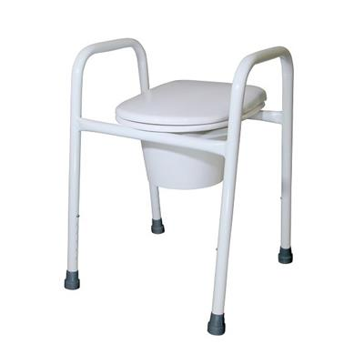 Over Toilet Frame with Splash Guard - 450mm