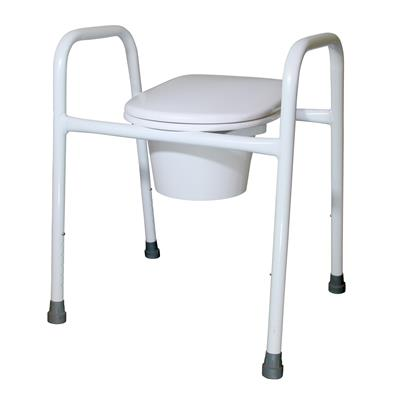 Over Toilet Frame with Splash Guard and Pan - 520mm