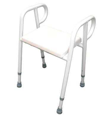 Premium Shower Stool with PU Seat - 450mm