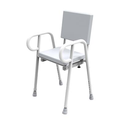 Premium Shower Stool with Backrest - 450mm
