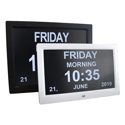 "10"" Digital LED Calendar Day Clock"