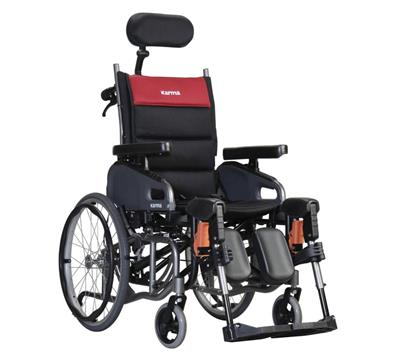 Karma VIP 515 2 Tilt Self-Propel Wheelchair 18""